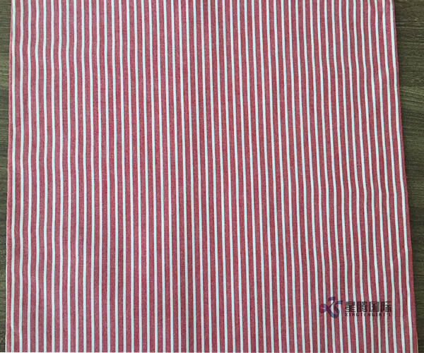 Red and White Vertical Stripe