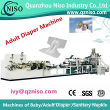 Máquina de la fabricación del pañal adulto de la frecuencia / cadena de producción (CNK180-FC)