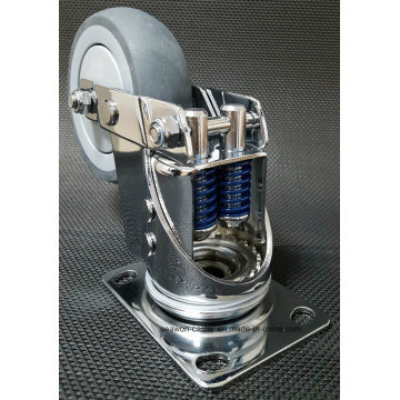 Shock Proof TPR Caster - Seawon - Double Spring