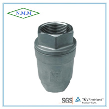 Stainless Steel Threaded Ends Spring Vertical Type Check Valve