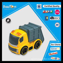 Children truck toy with pdq box friction toy truck