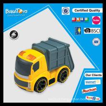 Crianças caminhão brinquedo com pdq caixa fricção brinquedo caminhão
