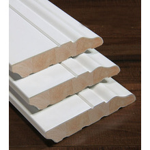 Xuzhou Water-Based Painted Wood Pine Decorative Mouldings