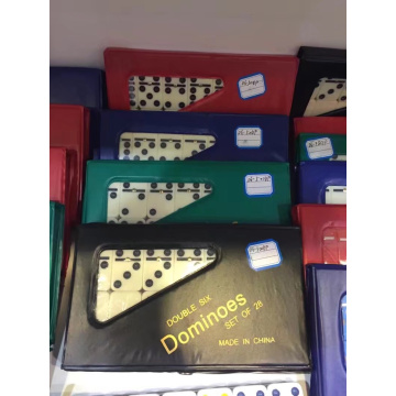 Promotional Double 6 Dominoes 28pcs