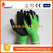 Green Nylon with Black Latex Glove-Dnl754