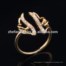2018 bijoux en gros nouvel angle aile anneau