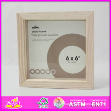 2014 Hot Sale New High Quality (W09A016) En71 Light Classic Fashion Picture Photo Frames, Photo Picture Art Frame, Wooden Gift Home Decortion Frame
