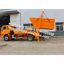 Howo 12cbm Swing Arm Garbage Truck