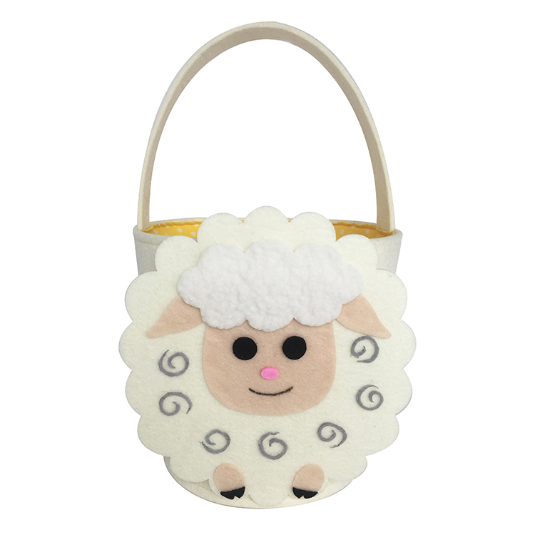 Easter Sheep Shape Candy Gift Bag