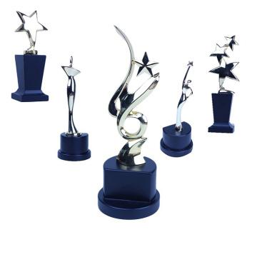 Коллекционная использовать восходящей звездой оптом алюминиевый трофей
