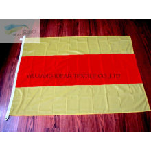 100% Polyester Knitted Double Colored Flags