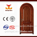 Selected Material customized solid wood arched doors for entrance