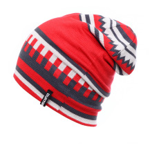 Fashion Jacquard Acrylic Knitted Winter Warm Ski Sports Hats (YKY3137-2)