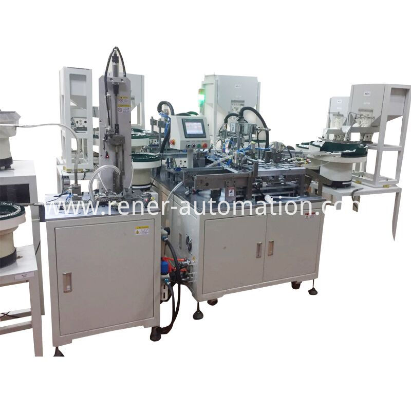 Water Inlet Assembly Machine