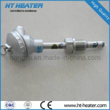 Sensor de temperatura tipo K de acero inoxidable