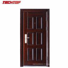 TPS-059 Porte d'entrée de porte en acier avant en métal