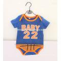 Mejor venta de bebé Onesie bebé deportes estilo impreso mameluco bebé niño monos
