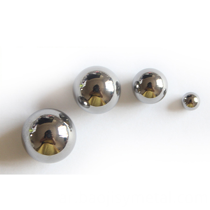 High corrosion tungsten carbide hard alloy ball1