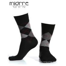 Miorre Men Wholesale Plaid Cotton Socks