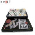 High Quality Dominoes Set in Tin Box Wholesale