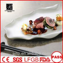 P & T chaozhou factory, круглые фарфоровые тарелки, использование столовой посуды