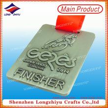 Quadratische Finisher Gedenkplakate Medaille für besten Preis