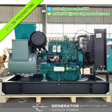 Gerador diesel elétrico de 60kw Deutz com motor genuíno WP4D66E200