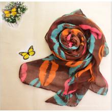 Heißer Verkauf Mode Multi Color Frauen Voile Stoff für Schal