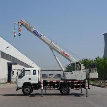 Customized for Hydraulic Mobile Crane EURO IV 8 Ton Small Hydraulic Truck Crane supply to Qatar Manufacturers