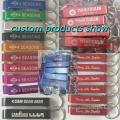 Wholesale Metal aluminum alloy accessories key chain beer gift bottle opener