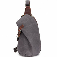 Simple Fashion Men Outdoor Shoulder Sling Väskor