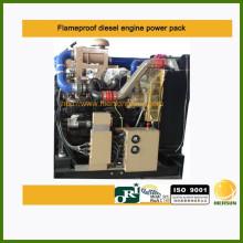 Motor Diesel à Prova de Chama da Zona 2