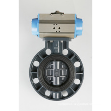 Electric Plastic Butterfly Valve