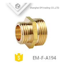 Acoplamiento de cobre amarillo del reductor de la rosca masculina de EM-F-A194 NPT para la manguera