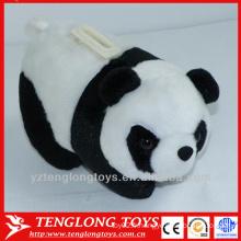 Boîte à économie d'argent panda en peluche en forme de peluche