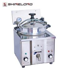 Fritadeira de alta pressão K535 de aço inoxidável comercial de aço inoxidável