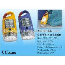 BT-1515 carabiner luz da tocha do diodo emissor de luz