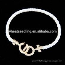 Atacado corda pulseira pulseira de corda personalizado barato