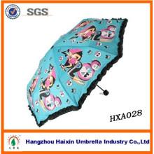 Resin Ribs Frame Ladies European Umbrellas
