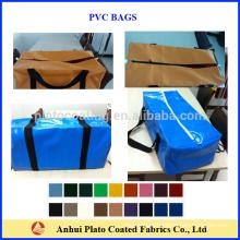 waterproof pvc tarpaulin bag mateial for all kinds of bag