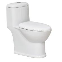 Langer einteiliger Wasser-Schrank CB-9008 mit langsamer beweglicher tragbarer Toilette