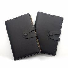 Cuaderno de hojas sueltas / Cuero Jotter / Cuaderno personalizado de la PU