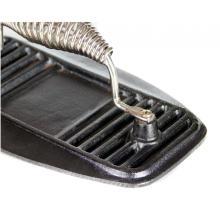 Parrilla de hierro fundido Press BBQ Barbacoa Hamburguesa press