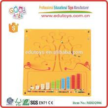 Brinquedos de brinquedos de madeira de labirinto educacional