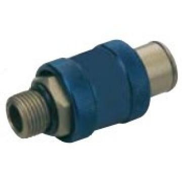 Vanne pneumatique à glissière manuelle série YHS