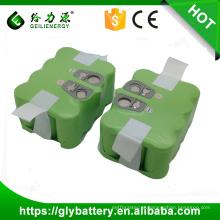 Recarga SC 3000mah 14.4v bateria ni-mh para aspirador de pó