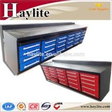 Mesa de trabajo de metal del banco de trabajo del garaje de Haylite [nuevo diseño del banco de la herramienta