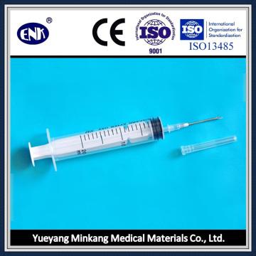 Медицинские одноразовые шприцы, с иглой (20 мл), Luer Slip, с сертификатом Ce & ISO