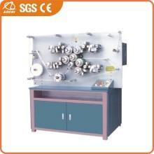 Máquina de impressão flexográfica de rótulos de tecido de várias cores