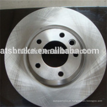 Auto peças de reposição sistema de freio alemão disco de freio de carro / rotor